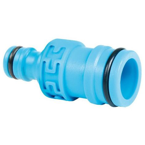 """2-way Connector 1"""" to Standard - 1"""" 1inch Quick to 1/2"""" or 3/4"""" Connect Heavy Duty Hose Syste..."""