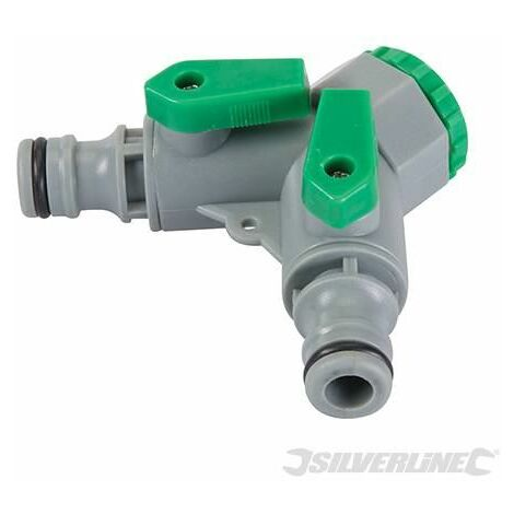 """2-Way Tap Connector - 3/4"""" BSP to 1/2"""" Male (444072)"""