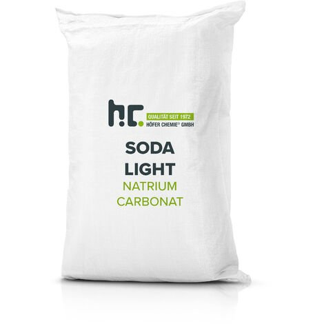2 x 25 kg Carbonate de sodium