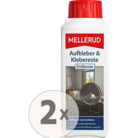 2 x 250 ml Mellerud Aufkleber & Klebereste Entferner