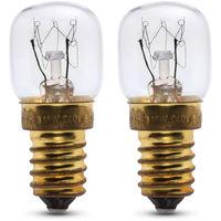 2 x 25w oven lamp for Gorenje oven 240v 300? Heat resistant. SES (E14)