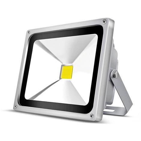 2 x 30W 3000LM IP65 COB White LED Floodlight Outdoor Security Lighting High Power Spotlight
