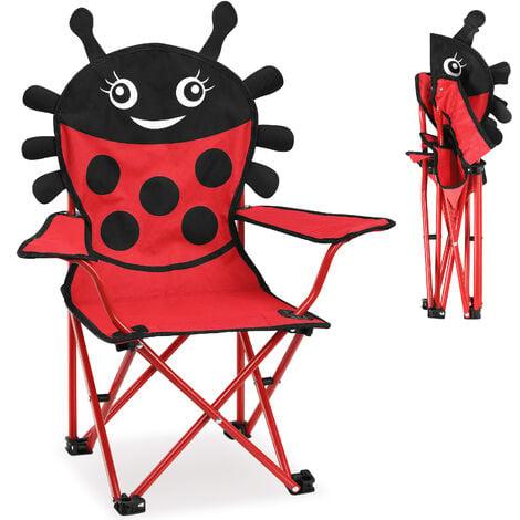2 x Children's Camping Chair Folding Chair Fishing Chair Folding Chair Garden Chair