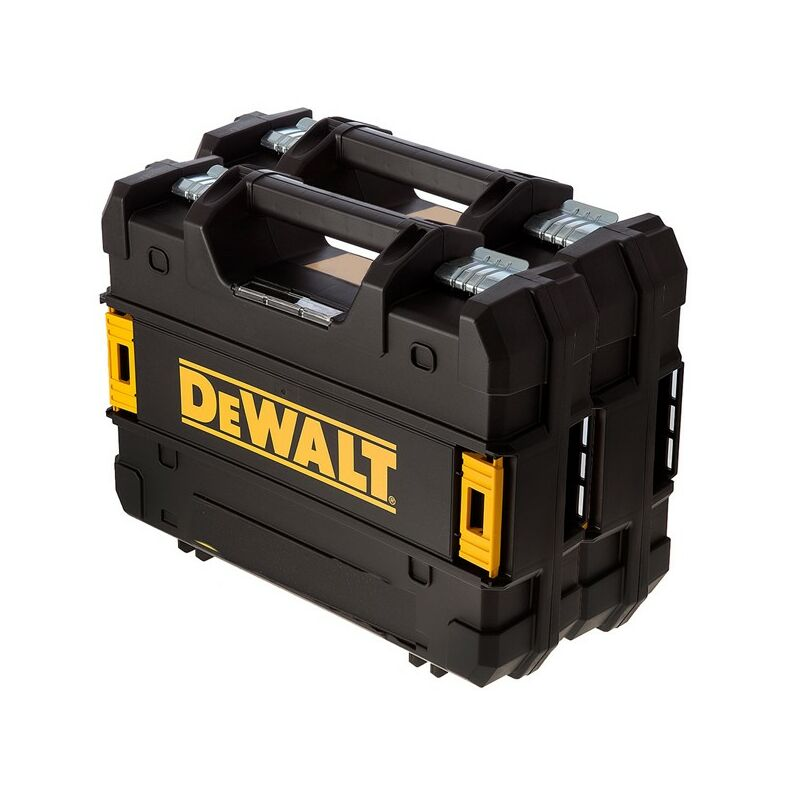 Image of 2 x Dewalt TStak Power Tool Case for Impact Driver / Combi Drill - DCF887 DCD796
