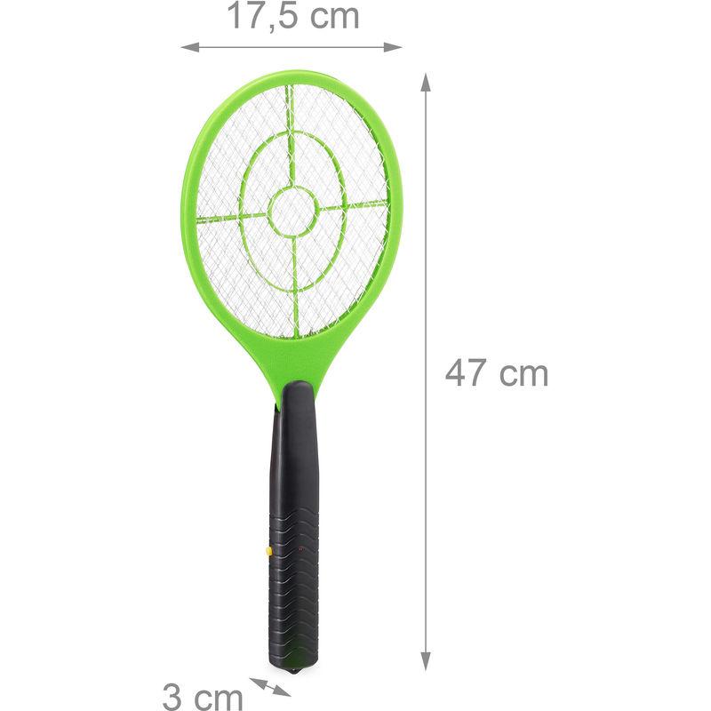 4x Fliegenklatsche Insektenvernichter Insektenschutz Fliegentöter Mückenklatsche