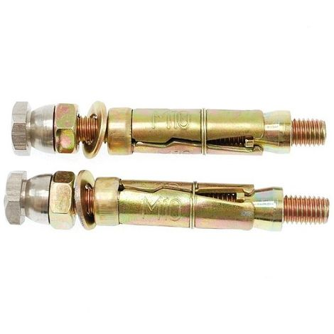 2 x M10 Secure Ground Fixing Bolt Kits [001-1010]