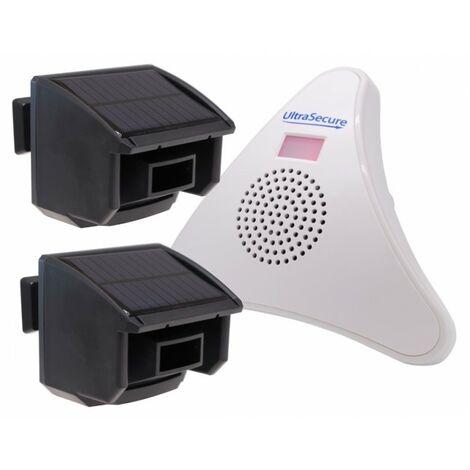 2 x PIR DA600-T Wireless Garden & Driveway Alarm Kit [004-5010]