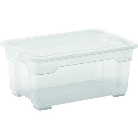2 x R Box Aufbewahrungsbox 11 Liter, 37 x 25,5 x 17 cm
