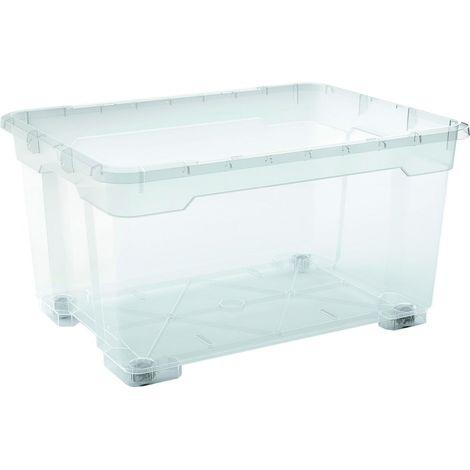 2 x R Box Aufbewahrungsbox 140 Liter, 77,5 x 58 x 41 cm