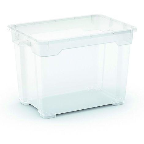 2 x R Box Aufbewahrungsbox 17 Liter, 37 x 25,5 x 26,5 cm