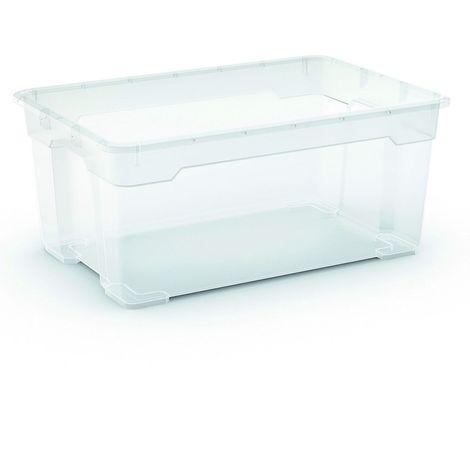 2 x R Box Aufbewahrungsbox 45 Liter, 56,5 x 38 x 26 cm