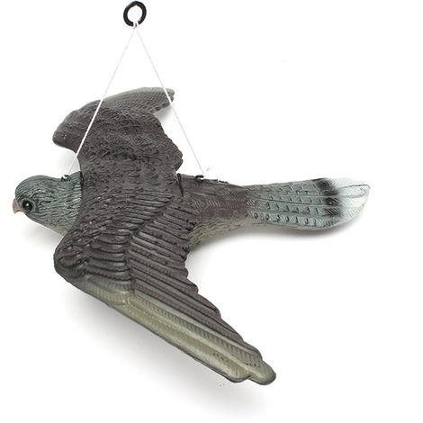 2 X Réaliste Oiseau Volant Hawk Pigeon leurre Pest Control Garden Scarer