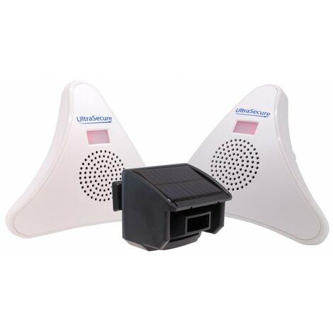 2 x Receiver DA600-T Wireless Garden & Driveway Alarm Kit [004-5040]