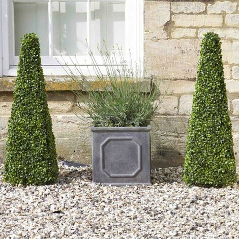 2 x Smart Garden Boxwood Topiary Obelisk 60cm Decorative Artificial 5045030