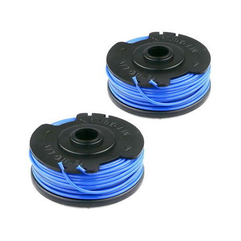 2 x Spool And Line Cord Fits MaCallister MGT600 Strimmer Grass Trimmer FLY021