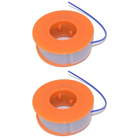 2 x Strimmer Trimmer Spool & Line Fits Bosch ART23 Easytrim