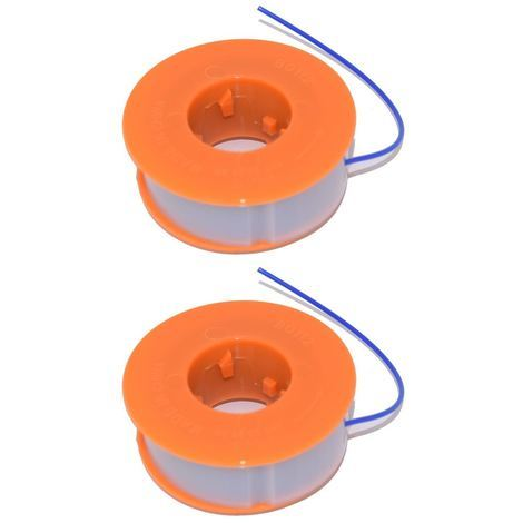 2 x Strimmer Trimmer Spool & Line Fits Bosch ART2600 Combitrim