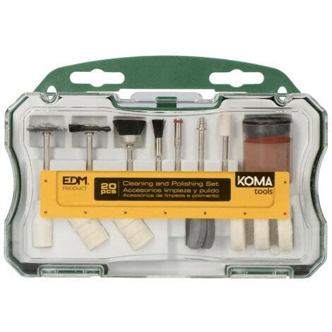20 accessoires KOMA pour outil multifonctions 08709 - 08735