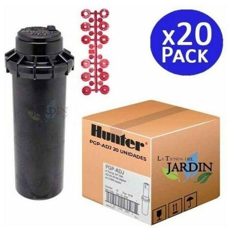 "20 Aspersor Hunter PGP-ADJ 3/4"", Alcance 6,4 a 15,8 m"