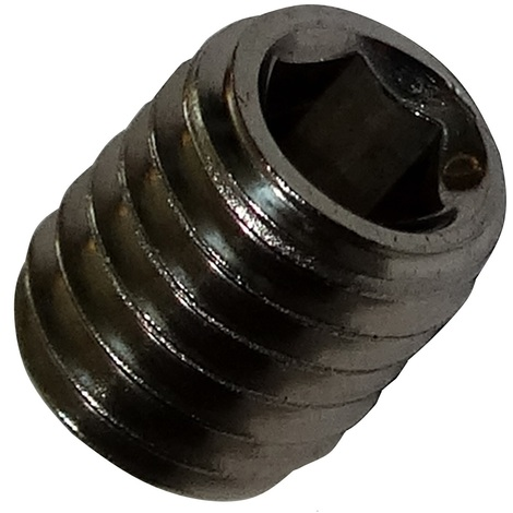 20 boulons vis sans tête M5x6 DIN913 acier inoxydable A2 empreinte Allen 2.5mm