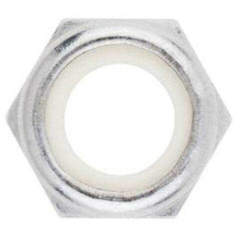 20 Ecrous autobloquants Inox A2 - M5 - DIN 986