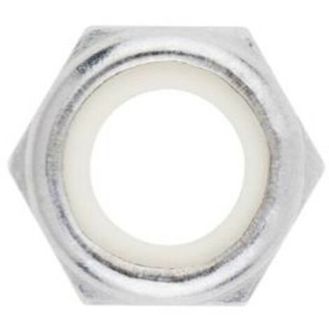 20 Ecrous autobloquants Inox A2 - M8 - DIN 988