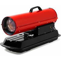 20 kW Canon à Air chaud Diesel (Poignée de transport, Protection contre Surchauffe, Sécurité de brûleur électronique) Appareil de chauffage