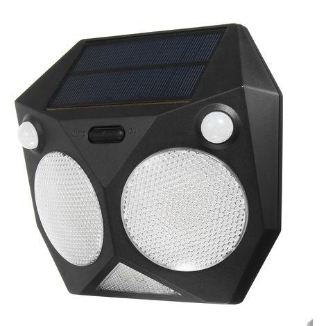 20 LED Solar Lighting PIR Wall Lamp Waterproof Movement Outdoor Garden Hasaki