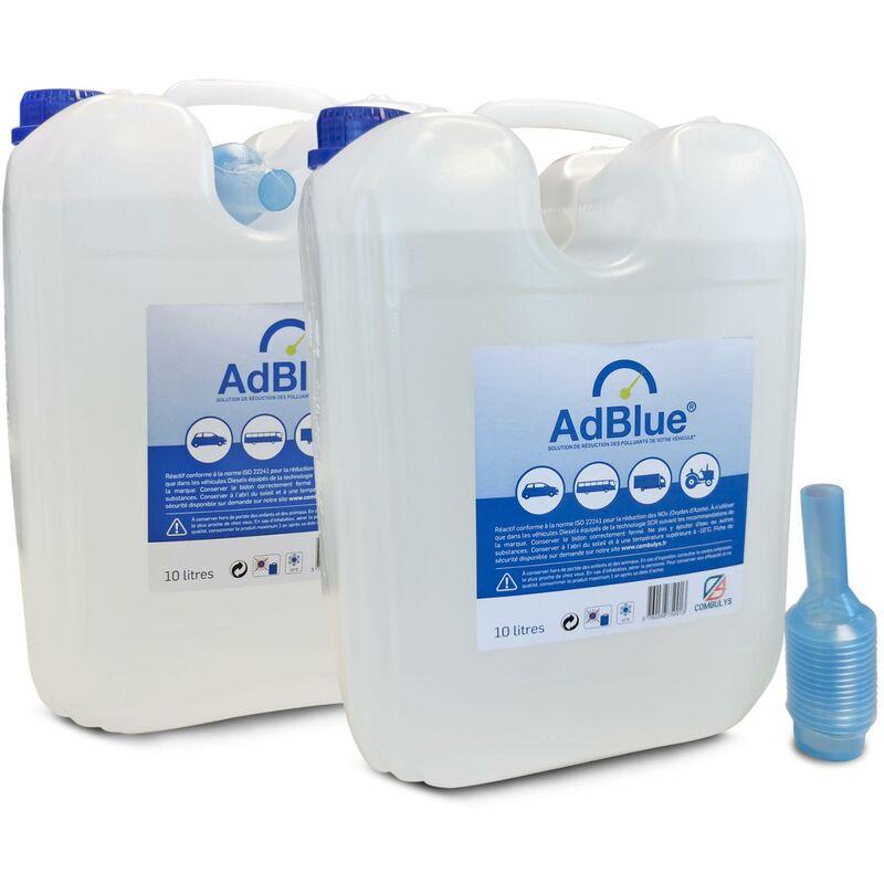 Oc-pro - 20 LITRES AdBlue SMB, 2 FOIS 10 LITRES BEC VERSEUR, AD Blue / GPNox