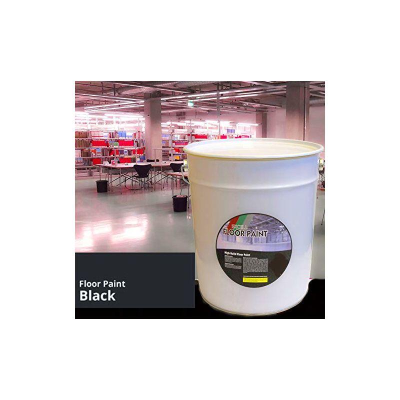 Image of 20 LTR Paint - Black Acrylic - Floor