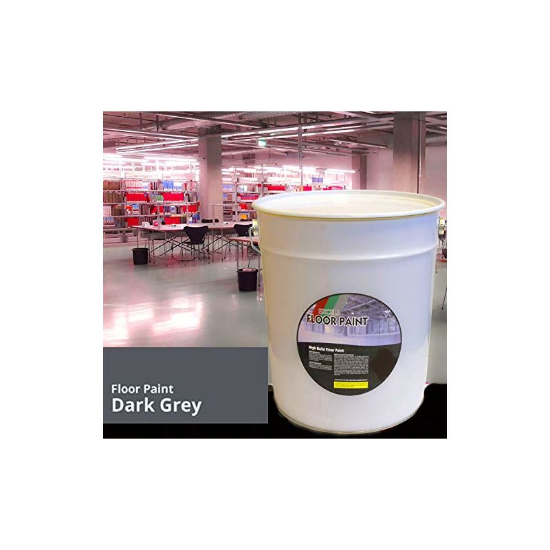 Image of 20 LTR Paint - Dark Grey Acrylic - Floor