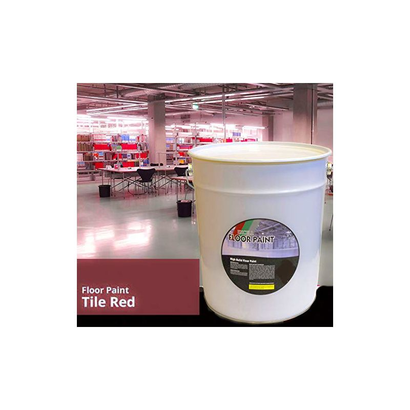 Image of 20 LTR Paint - Red Acrylic - Floor