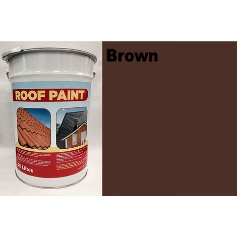 """main image of """"20 LTR Roof Paint - Brown"""""""