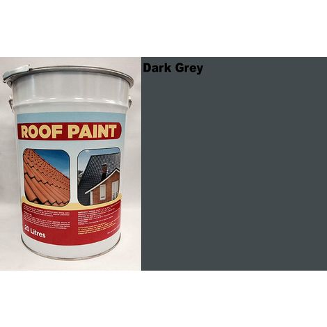 20 LTR Roof Paint - Dark Grey