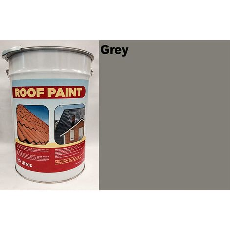 20 LTR Roof Paint - Grey