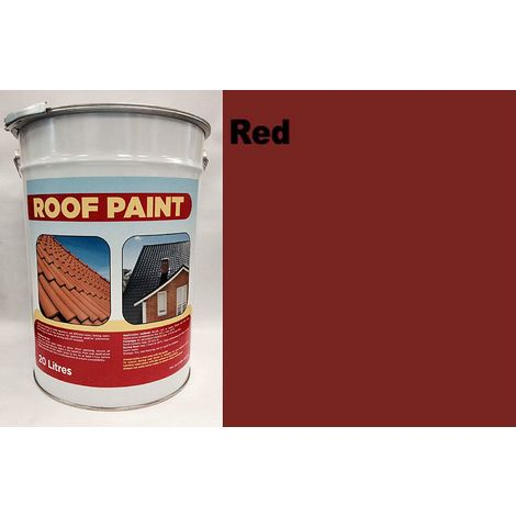 20 LTR Roof Paint - Red
