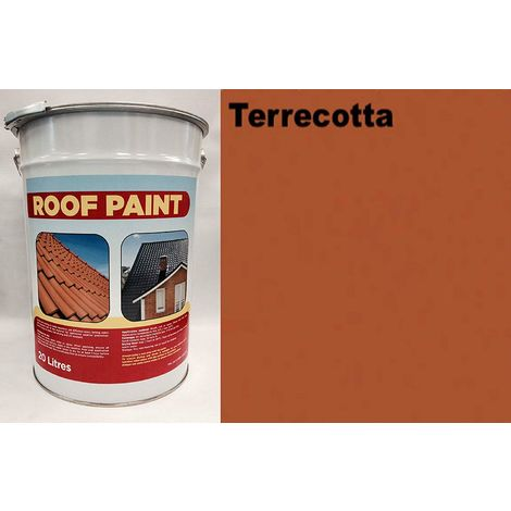 """main image of """"20 LTR Roof Paint - Terracotta"""""""