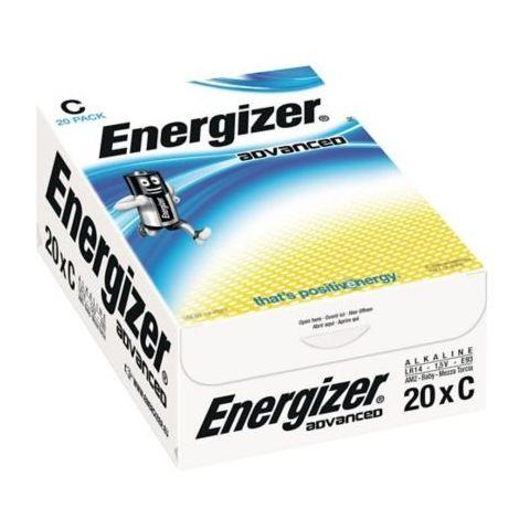 20 Piles LR14 C Advanced ENERGIZER