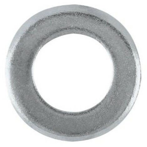 20 Rondelles plates Inox A2 - M6 x D. 6,4 x Ep. 1,6 mm