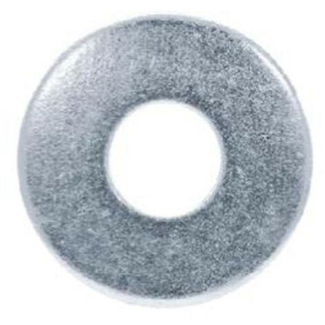 20 Rondelles plates larges Inox A2 - M10 x D. 10,5 x Ep. 2,5 mm