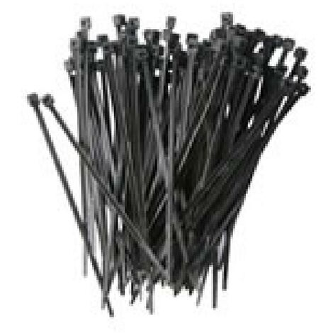 20 Serre-cables 135x2.6mm noirs