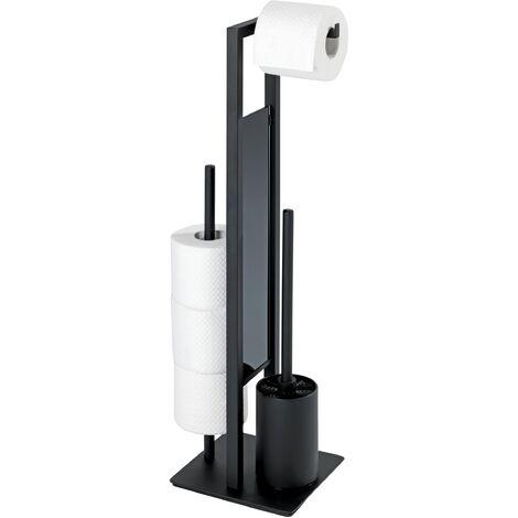 (20) Stand WC-Garnitur Rivalta, schwarz