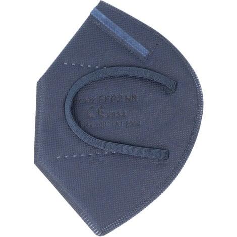 20 Stück FFP2 Maske Blau 5-Lagig, zertifiziert nach DIN EN149:2001+A1:2009, partikelfiltrierende Halbmaske, FFP2 Schutzmaske