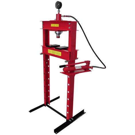 20 Ton Air Hydraulic Floor Shop Press H Type