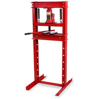 20 Tons Hydraulic Workshop Press (2x Press Plates, 635 mm Working Height, 8-way adjustable, 425 mm Working Height)