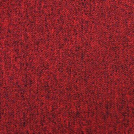 20 x Carpet Tiles 5m2 / Scarlet Red