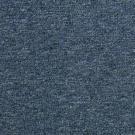 20 x Carpet Tiles 5m2 / Storm Blue