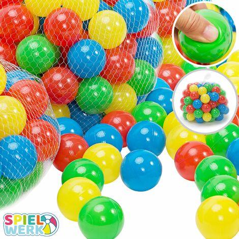 200 bolas para la carpa/piscina de juegos de los niños 6cm