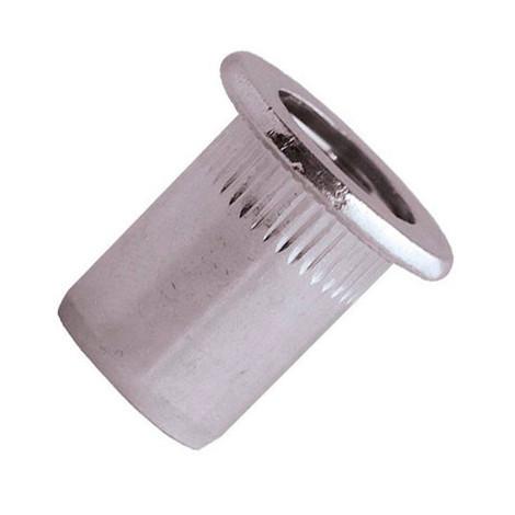 200 écrous à sertir crantés alu TP, D. M6 x 17.5 mm - EAD0645 - Scell-it