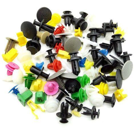 200 grapas plastico,clips de plastico de carroceria coches universal,remaches